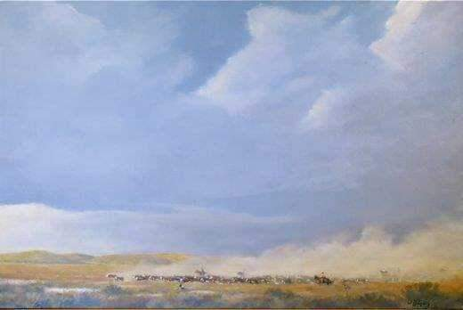 Jim Bagley-Sorrel Sky Gallery-Painting-Dusty