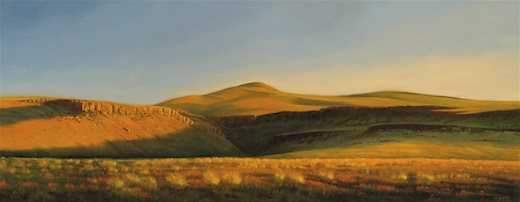 Jim Bagley-Sorrel Sky Gallery-Painting-Evening Light At Beatty Butte