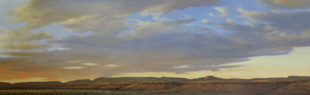 Jim Bagley-Sorrel Sky Gallery-Painting-Evening Sky