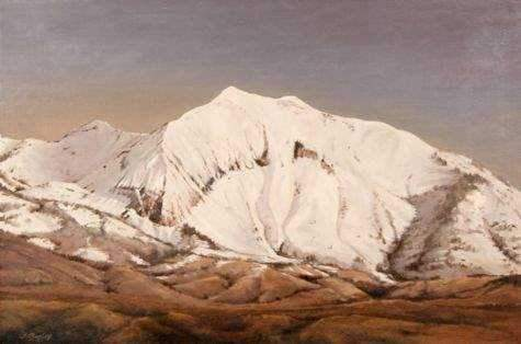 Jim Bagley-Sorrel Sky Gallery-Painting-First Snow