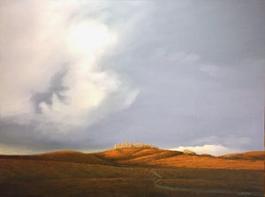Jim Bagley-Sorrel Sky Gallery-Painting-Forest Service Road 245a