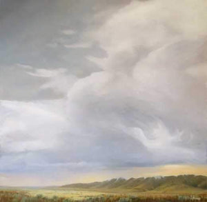 Jim Bagley-Sorrel Sky Gallery-Painting-Just Passing Through