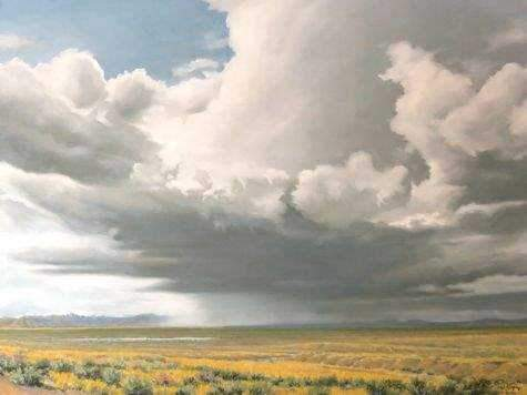 Jim Bagley-Sorrel Sky Gallery-Painting-On The Plateau