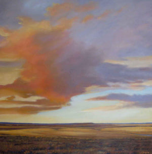 Jim Bagley-Sorrel Sky Gallery-Painting-On The Way To Taodlena Trading Post