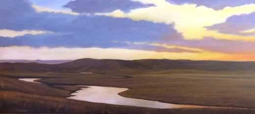 Jim Bagley-Sorrel Sky Gallery-Painting-Quiet