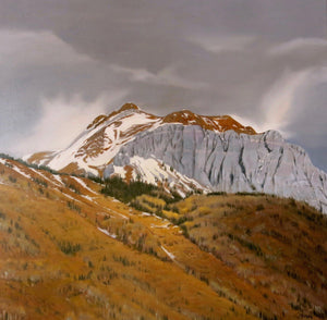 Jim Bagley-Sorrel Sky Gallery-Painting-Red Mountain Pass