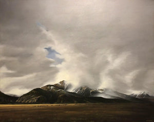 Jim Bagley-Sorrel Sky Gallery-Painting-Rocky Mt. Spring Day