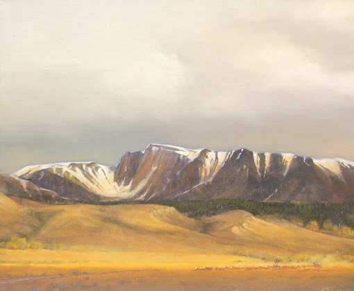 Jim Bagley-Sorrel Sky Gallery-Painting-Sangre De Christos