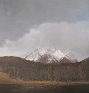 Jim Bagley-Sorrel Sky Gallery-Painting-Storm Over Needles