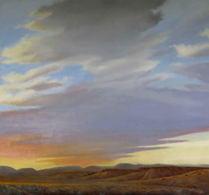 Jim Bagley-Sorrel Sky Gallery-Painting-The Last Of A Good Day