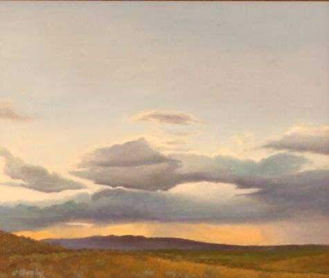 Jim Bagley-Sorrel Sky Gallery-Painting-View From Camp