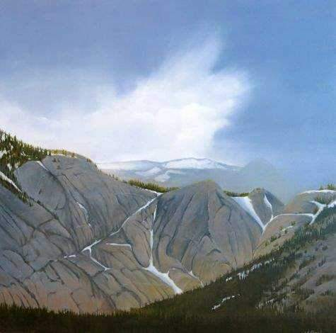 Jim Bagley-Sorrel Sky Gallery-Painting-Yosemite