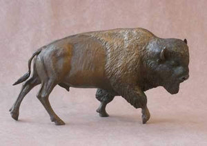 Jim Eppler-Buffalo-Sorrel Sky Gallery-Sculpture