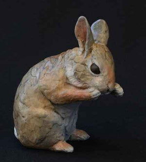 Jim Eppler-Baby Cottontail VIII-Sorrel Sky Gallery-Sculpture
