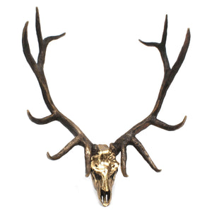 Jim Eppler-Elk Skull-Sorrel Sky Gallery-Sculpture