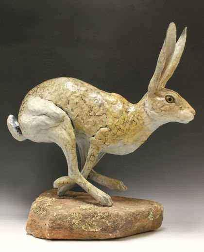 Jim Eppler-Jack Rabbit V-Sorrel Sky Gallery-Sculpture