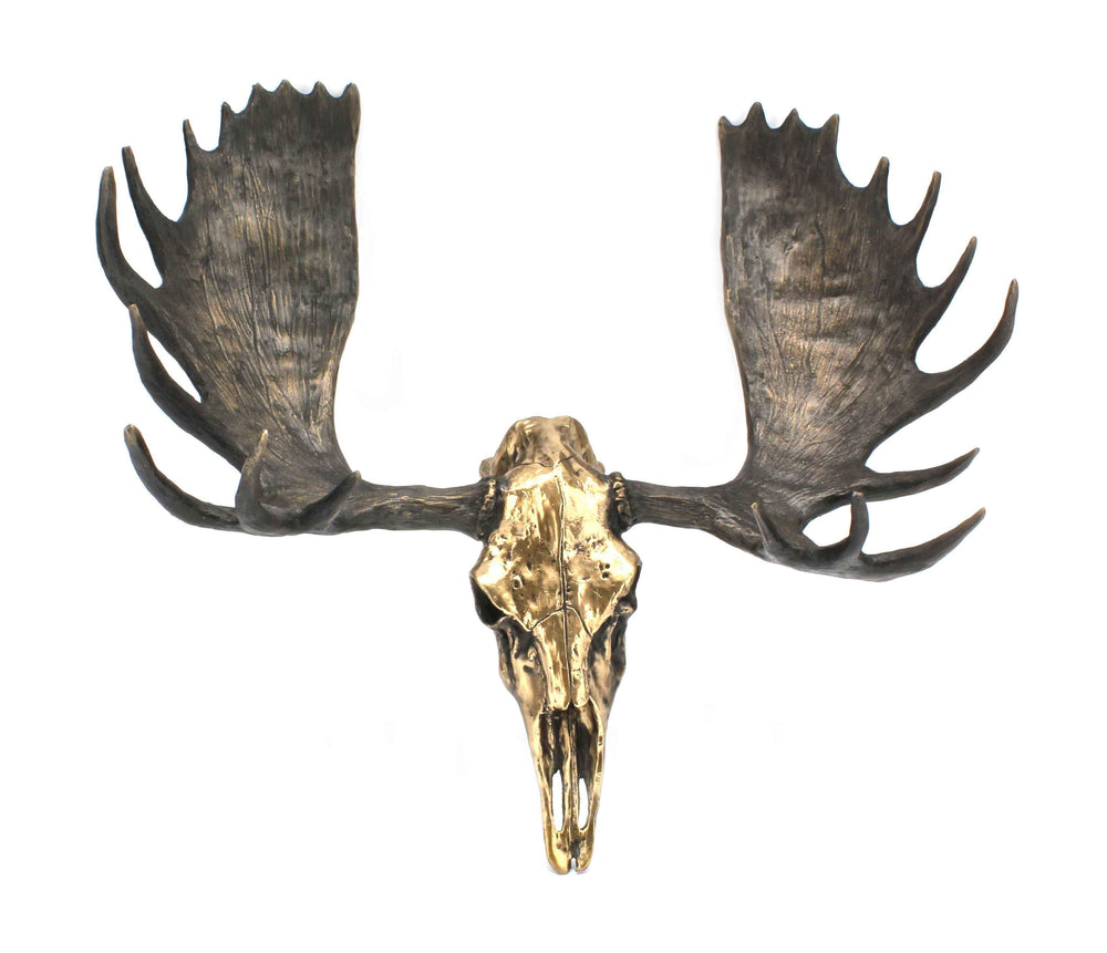 Jim Eppler-Moose Skull-Sorrel Sky Gallery-Sculpture