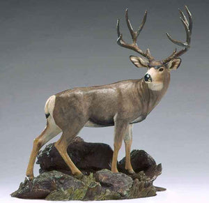 Jim Eppler-Mule Deer High Desert Monarch-Sorrel Sky Gallery-Sculpture