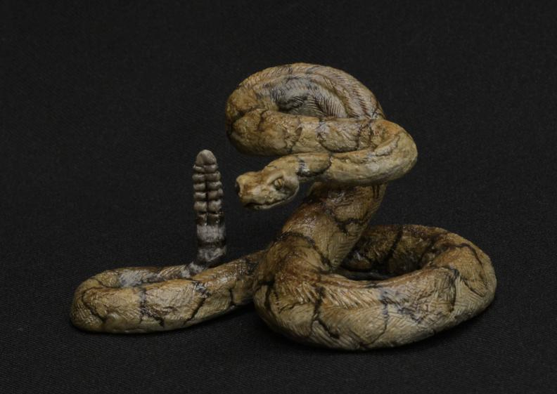 Jim Eppler-Rattlesnake Small-Sorrel Sky Gallery-Sculpture