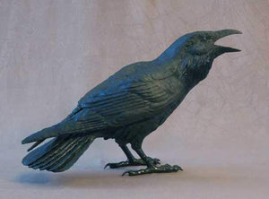 Jim Eppler-Raven I-Sorrel Sky Gallery-Sculpture