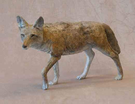 Jim Eppler-Small Coyote-Sorrel Sky Gallery-Sculpture