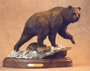 Jim Eppler-Wilderness Grizzly-Sorrel Sky Gallery-Sculpture
