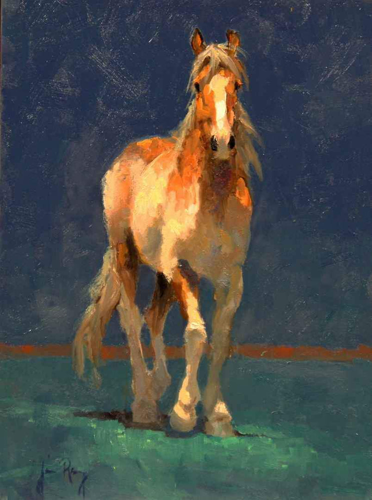 Jim Rey-Paint Filly-Sorrel Sky Gallery-Painting