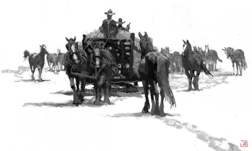 Feed Wagon