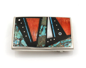 Inlay Belt Buckle-Jewelry-Jimmy Poyer-Sorrel Sky Gallery