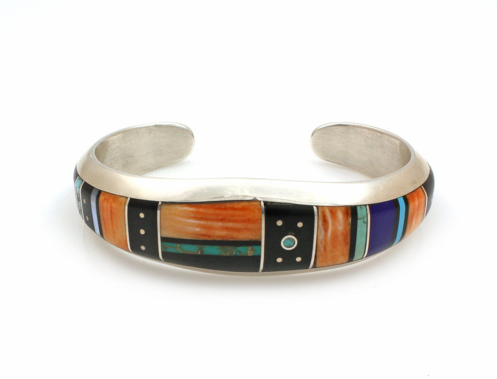 Inlay Cuff Bracelet-Jewelry-Jimmy Poyer-Sorrel Sky Gallery
