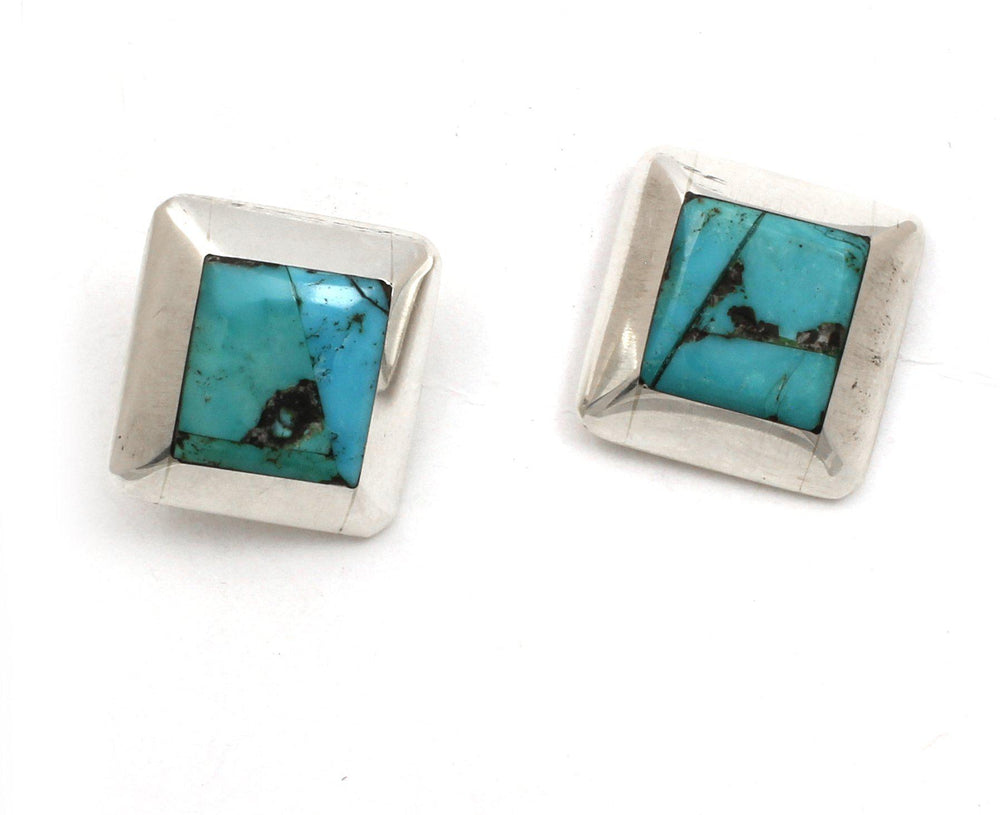 Inlay Cuff Links-Jewelry-Jimmy Poyer-Sorrel Sky Gallery