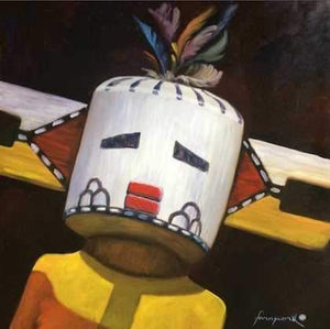 John Farnsworth-Sorrel Sky Gallery-Painting-Cloud Kachina III