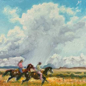 John Farnsworth-Sorrel Sky Gallery-Painting-Downpour