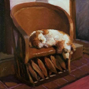 John Farnsworth-Sorrel Sky Gallery-Painting-Equipale Dog
