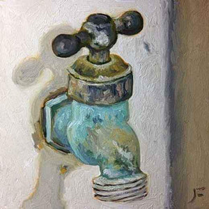 John Farnsworth-Sorrel Sky Gallery-Painting-Hose Bib