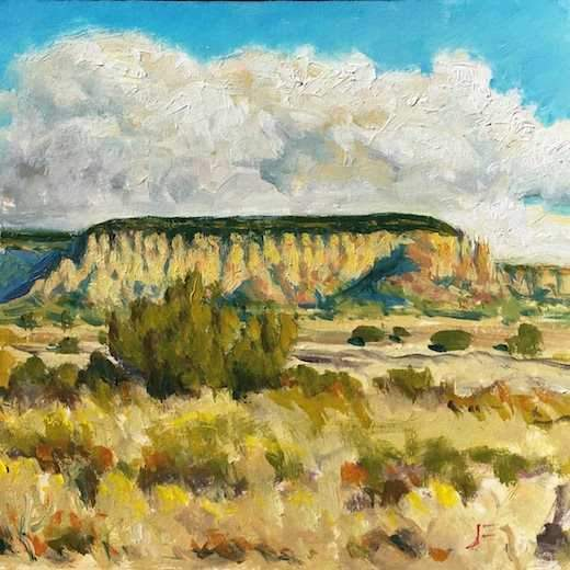 John Farnsworth-Sorrel Sky Gallery-Painting-Sacred Corn Mountain