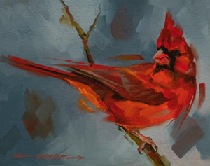 Winter Red-Painting-Kathryn Ashcroft-Sorrel Sky Gallery