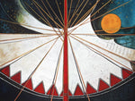 Abstract Moon Tipi