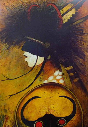Kevin Red Star-Plains Indian Traditional Dancer-Painting-Sorrel Sky Gallery