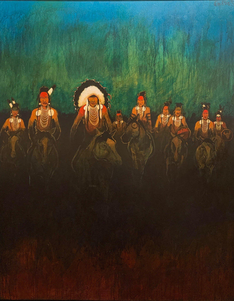 The Charge-Painting-Kevin Red Star-Sorrel Sky Gallery