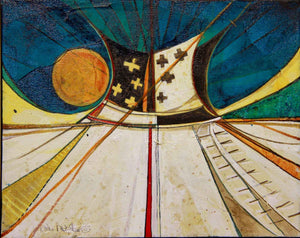 Kevin Red Star-Tipi #18-Painting-Sorrel Sky Gallery