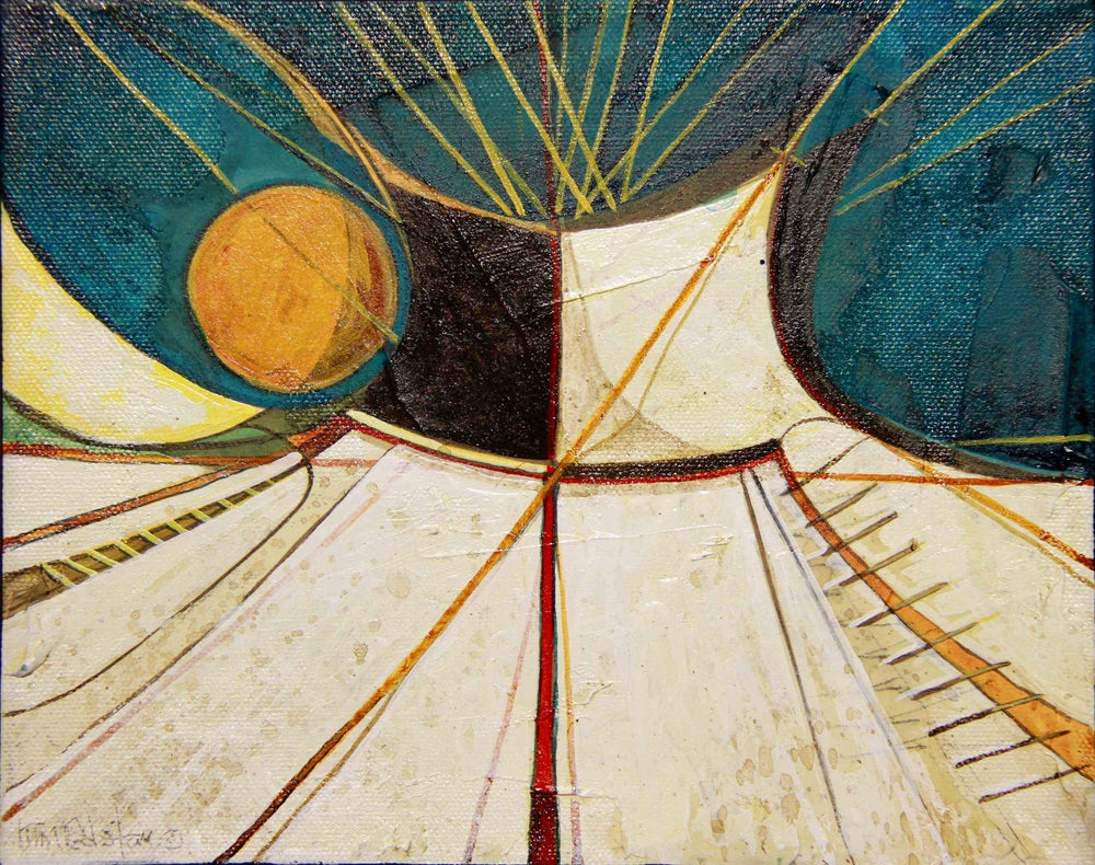 Kevin Red Star-Tipi #20-Painting-Sorrel Sky Gallery