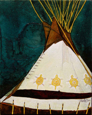 Kevin Red Star-Turtle Lodge-Painting-Sorrel Sky Gallery