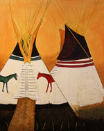 Two Horse Tipi