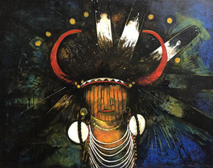 Kevin Red Star-Yellow Hawk-Painting-Sorrel Sky Gallery