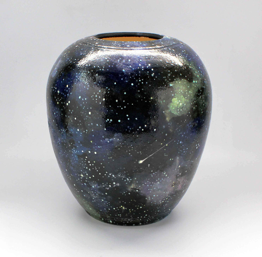 Laura Bruzzese-Sorrel Sky Gallery-Pottery-Galaxy Vase