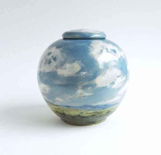 Laura Bruzzese-Sorrel Sky Gallery-Pottery-New Mexico Monsoons
