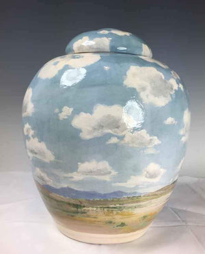 Laura Bruzzese-Sorrel Sky Gallery-Pottery-New Mexico Summer