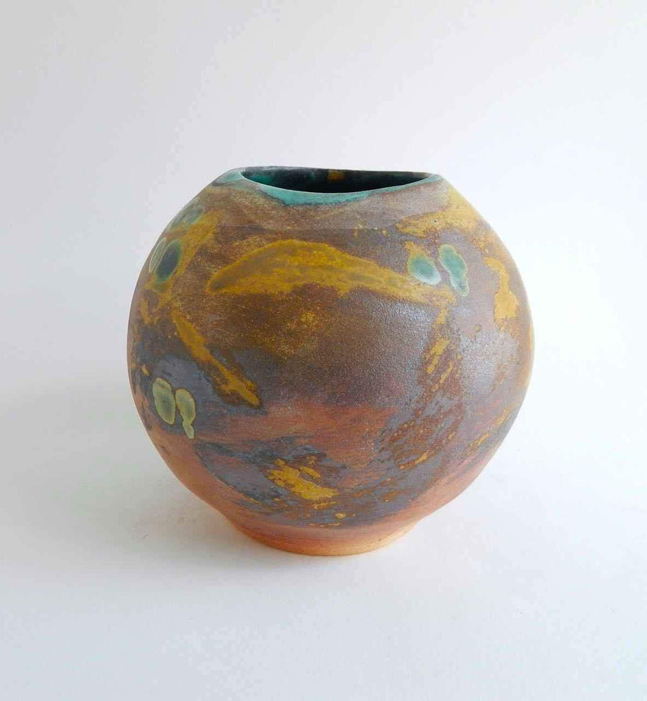Laura Bruzzese-Sorrel Sky Gallery-Pottery-Wood Fired Vase