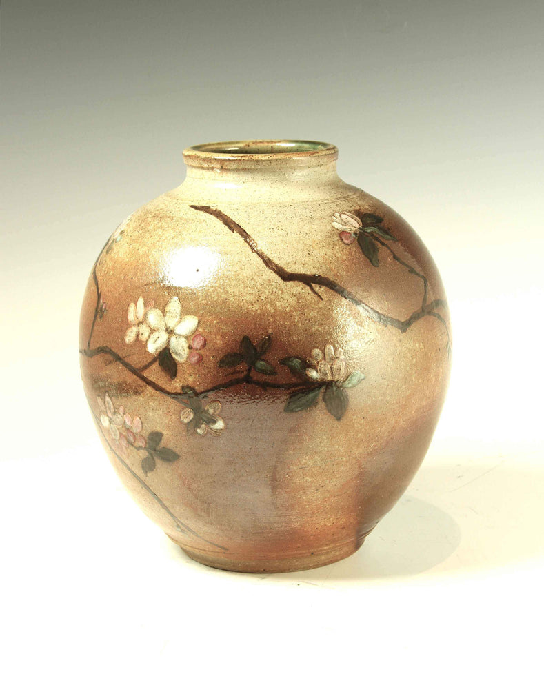 Laura Bruzzese-Sorrel Sky Gallery-Sculpture-Wood-Fired Blossom Vase
